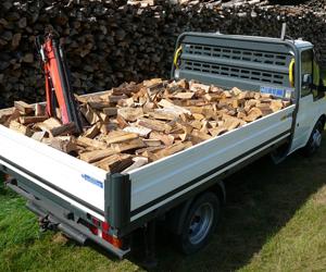 Truck Load of Firewood Ashford Kent